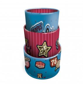 Busquets magnetický kancelársky stojan CAMPUS Girls 3ks