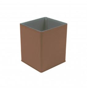 Busquets magnetický kancelársky stojan na stôl stredne hnedý