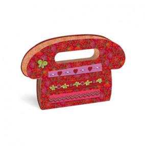 Busquets Adresár kabelka, červený