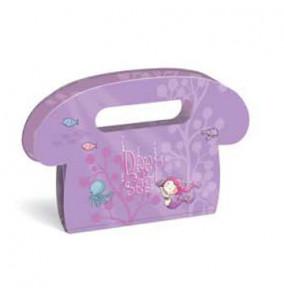 Busquets Adresár kabelka, fialový