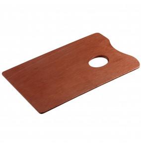 Talens maliarska paleta drevenná 16x25cm