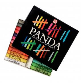 Talens Panda olejový pastel, 24ks