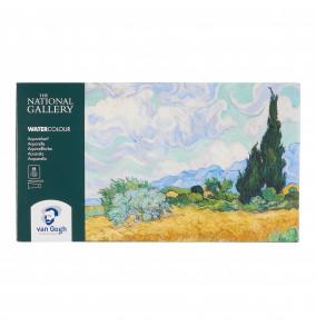 Van Gogh The National Gallery vodové farby 18 ks