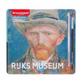 Bruynzeel akvarelové farbičky z limitovanej edície Van Gogh,  24 ks