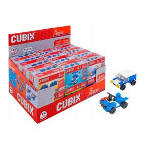 K-18.550 Skladačka Cubix polícia-modrá