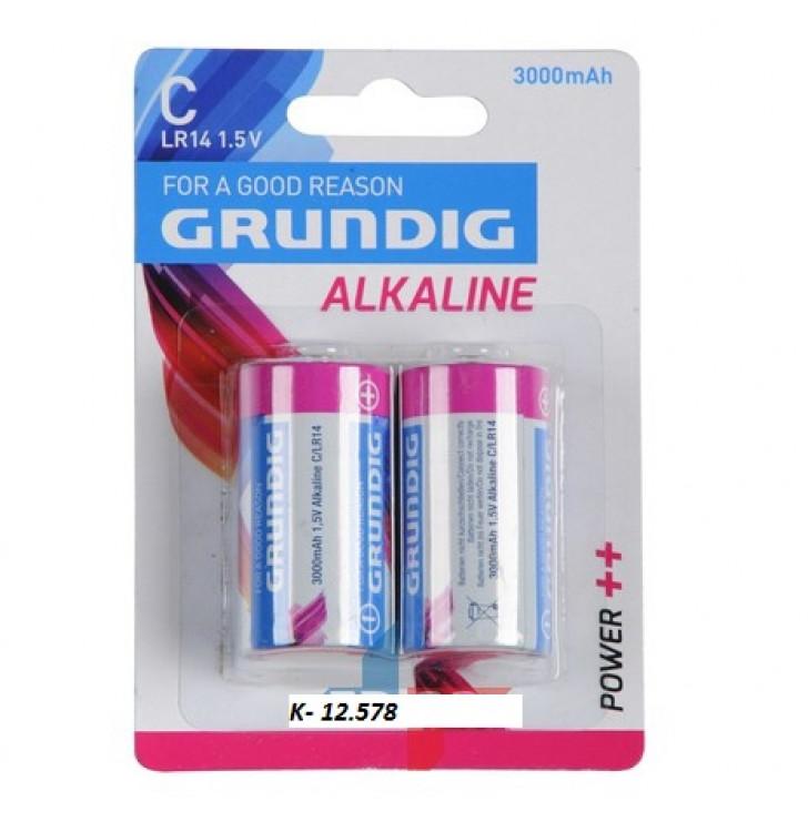 K-12.578 Batérie Gurndig-C/lr14/2ks