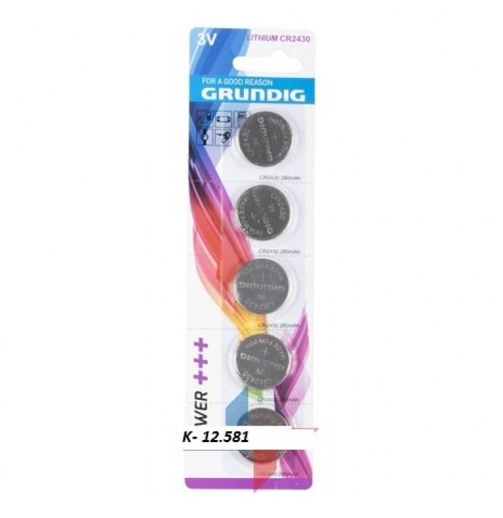 K-12.581 Batérie Grundig-CR2430