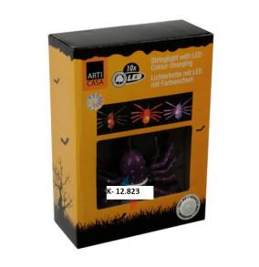 K-12.823 Pavúková girlanda - 10 LED svetielok