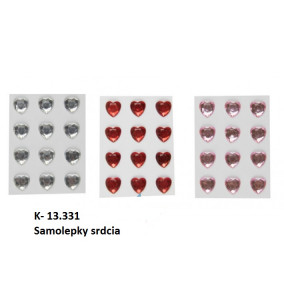 K-13.331 Samolepky srdcia