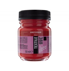 K-14.291-388-červená Farba na textil 50ml