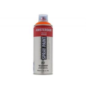 Amsterdam farba v spreji 400ml- 384-reflexná-oranžová