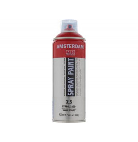 Amsterdam farba v spreji 400ml- 315-červená
