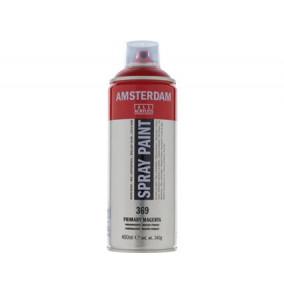 Amsterdam farba v spreji 400ml- 369-tmavo-červená