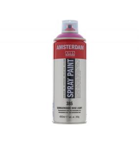 Amsterdam farba v spreji 400ml- 385-svetlo-ružová