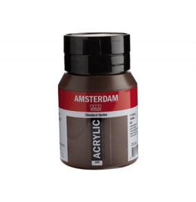 Amsterdam akrylová farba 500ml burnt umber