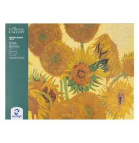 Van Gogh skicár 18x24 cm, 12 listový