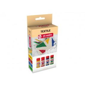 K-14.401 Farby na textil v sade 4x50ml