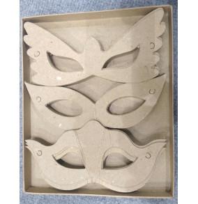 K-20.715 Kartónové výseky na dekorovanie- masky/30ks