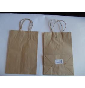 K-20.737 Papierová taška natur 28x19x12,5cm