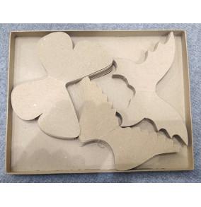 K-20.743 Kartónové výseky na dekorovanie- krídla/30ks