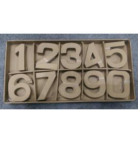 K-20.738 Kartónové výseky na dekorovanie- čísla/100ks