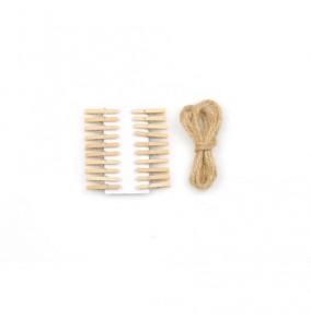 K-12.118 Kolíčky so šnúrkou