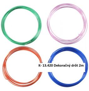 K-13.420 Dekoračný drôt 2m