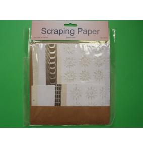 K-20.708 Scraping papier-biely-mix