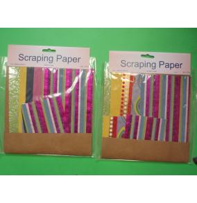 K-20.708 Scraping papier-prúžok-mix