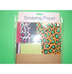 K-20.708 Scraping papier-tiger-mix