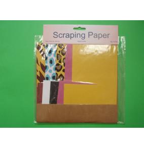 K-20.708 Scraping papier-jednofarený-mix