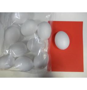 K-6977 Polystyrénové vajce 10cm na dekorovanie/10ks
