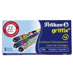 Bombičky Pelikan Griffix 4 modré 5ks