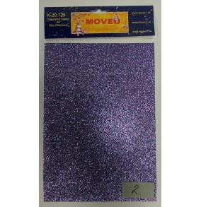 K-20.725-2 Glitrovaný papier- fialová