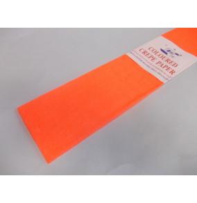 K-20.501Krepový papier-neón-oranž