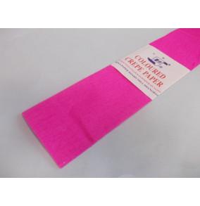 K-20.501Krepový papier-neón-ružový