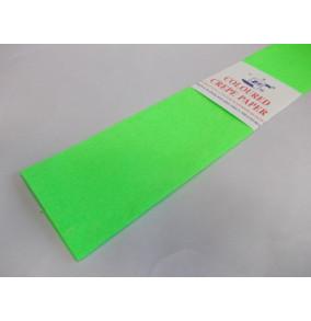 K-20.501Krepový papier-neón-zelený