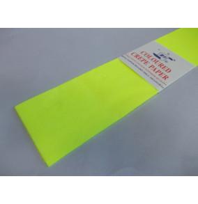 K-20.501Krepový papier-neón-žltý
