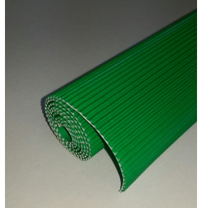 K-20.019 Kartón vlnitý 50x70cm - zeleny