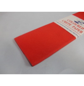 K-20.016 Krepový papier-červený