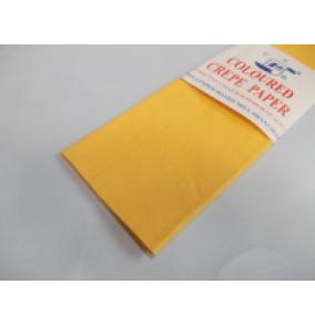 K-20.016 Krepový papier-tmavo žltý