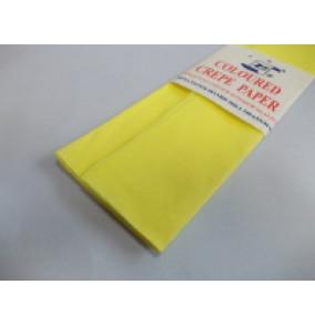K-20.016 Krepový papier-žltý