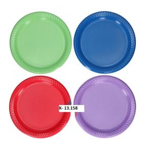 K-13.158 Párty taniere/12ks farebné 23cm