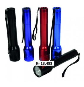 Baterka kovová-20cm-12led