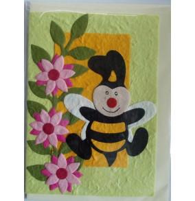 Blahoželanie včielka