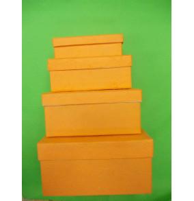 K-20.216 Darčekové krabičky/4ks-ručný papier
