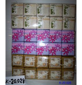 K-20.028 Krabička štvorcová kvety