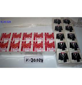 K-20.028 Krabička stvorcová,srdce,oblek