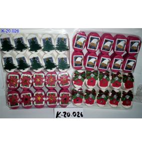 K-20.026 Krabička ovál, vianočná