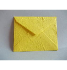 K-20.224 Obálka-ručný papier-tmavo-žltá